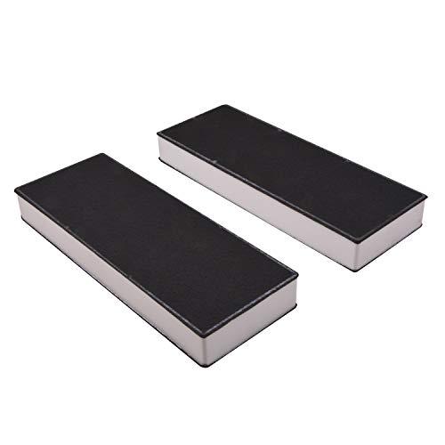 Juego de 2 filtros de carbón activo de repuesto para Bora Basic BAKFS/BAKFS-002 / BHU/BIU/BFIU