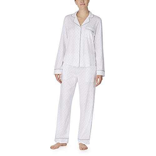 DKNY Damen Schlafanzug Gr. Medium, weiß