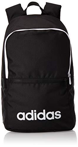 adidas Lin CLAS BP Day Sac à Dos de Sport Mixte Adulte, Black/Black/White, 55 cm