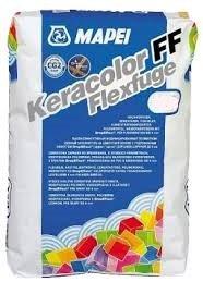 Keracolor FF Flexfuge fijnvoegen, flexibele voegenmortel, voor voegen van 2 tot 6 mm (1 zak 5 kg) 5 kg zak jasmijn