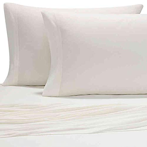 Pure Beech Jersey Knit Modal Standard Pillowcases in Natural (Set of 2)