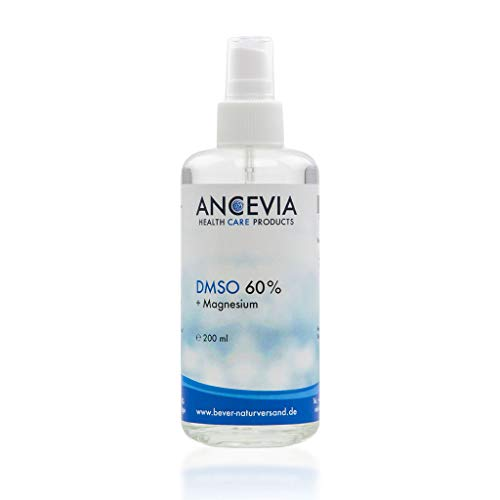 ANCEVIA® DMSO 60 mit Magnesium 200ml - DMSO mit 99,9% Ph. Eur. - Dimethylsulfoxid + Magnesiumchlorid - als Spray