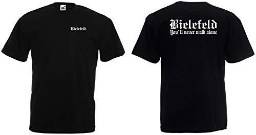 Bielefeld Herren T-Shirt Fan Ultras