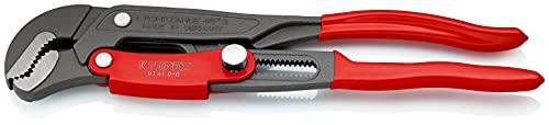 KNIPEX Rohrzange S-Maul mit Schnelleinstellung (330 mm) 83 61 010