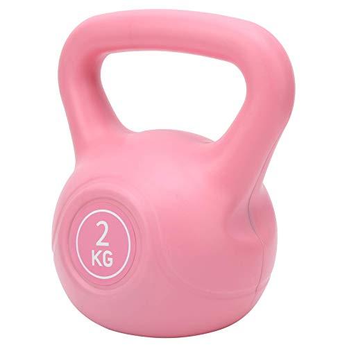 AYCPG Kettlebells 2kg para el Entrenamiento Abdominal para Las Mujeres Principiante, Equipo de Ejercicio para Entrenamiento en el hogar Gimnasio Fitness  Hierro Fundido Kettlebell lucar