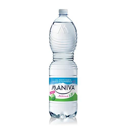 MANIVA, Pet Classic, Acqua Naturale, Confezione da 6 Bottiglie, 150 CL