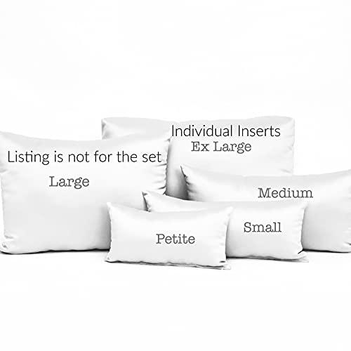 White Purse Pillow Inserts - Stuffers Handbag Protection