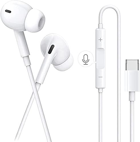 Auricolari per iPhone 11, Cuffie per iPhone 12, Auricolare per iPhone 7 stereo HiFi, Isolamento del Rumore, Bassi Potenti, Compatibile con iPhone 11 Pro/8/8 Plus/7 Plus/XR/XS/X (M)
