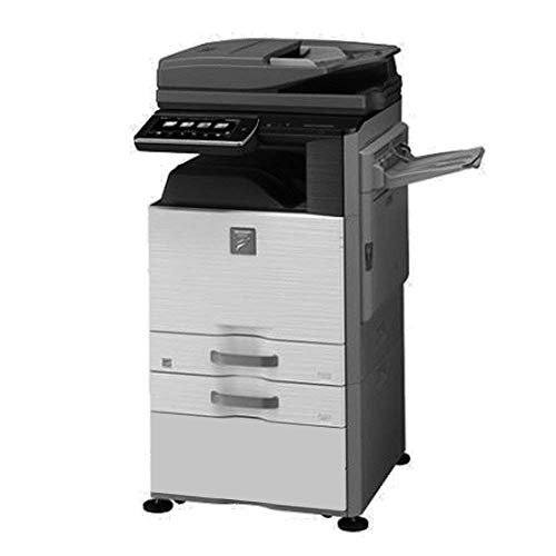 New Sharp MX-M465N Tabloid-Size Monochrome Laser Multifunction Copier - 46ppm, Copy, Print, Scan, Au...