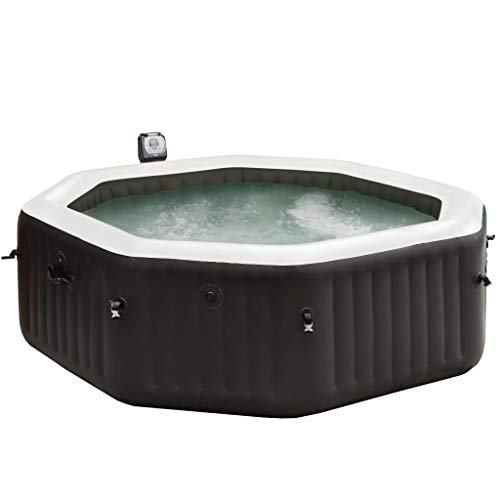 Intex Aufblasbarer Whirlpool 28456NL Spa Jet&Bubble Deluxe