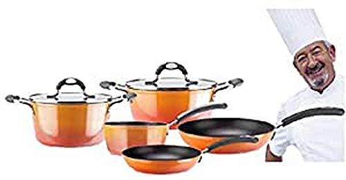 VITREX 71PACAFUE24 71PACAFUE24-Olla Gourmet de Aluminio Full Induction Modelo Fuego de 24x11...