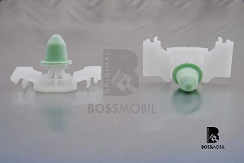 10x original Boss móvil con moldura Choque Barra befestiguing Soporte Clip con boquilla de golf iii 1H1Cabrio 1h0853585a # nuevo # 39x 22x 0