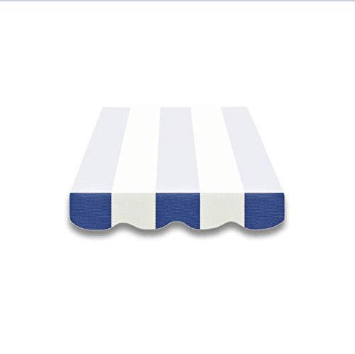 Vana deutschland GmbH Faldón toldos Toldo tela para plástico 4m, Nuevo solo cenefa SPD022