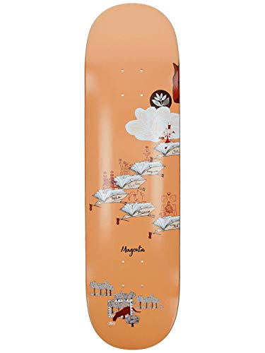 Magenta Skateboard Deck Infinite Loop 8.25