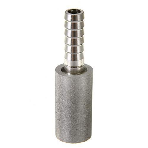 Aeration Stone 1/8NPT - Barra di carbonazione professionale in acciaio inox, accessorio per birra, ossigenazione, efficace contro la corrosione Taglia libera Come da immagine