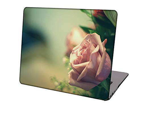 Laptop Case for Newest MacBook Pro 15 inch Model A1707/A1990,Neo-wows Plastic Ultra Slim Light Hard Shell Cover Compatible Macbook Pro 15 inch,Rose 0932