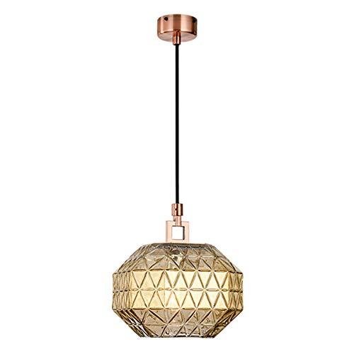 TopDeng Post-moderne creatieve glazen hanglamp, E27 lichte luxe diamant decoratie kroonluchter voor slaapkamer woonkamer restaurant vitrine