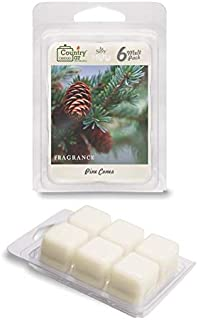 Country Jar Pine Cones Scented Wax Melt Soy Tarts (6-Cube Pk) Sale! 20! Off 3 or More!