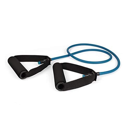 Quemagrasas Cuerda Elástica Deportes Equipo De Fitness Entrenamiento De Fuerza Inicio Expansor De Pecho Equipo De Fitness Pedal Ejercitador Abdominal (Color : Blue, Size : M)