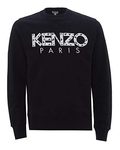 Kenzo - Sudadera con logotipo para hombre Negro Negro ( L