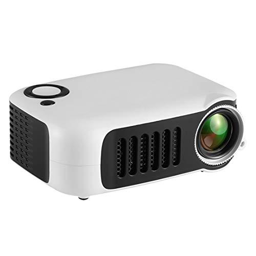 Candybarbar A2000 Mini Pico proyector proyector casero 1080P HD HDMI USB múltiples métodos de Entrada