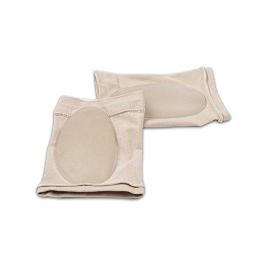 Healifty Plantarfasziitis Einlegesohlen Fußgewölbe Bandage Orthetische Schuheinlage Gel Pads für Flache Schmerzende Füße (Hautfarbe)