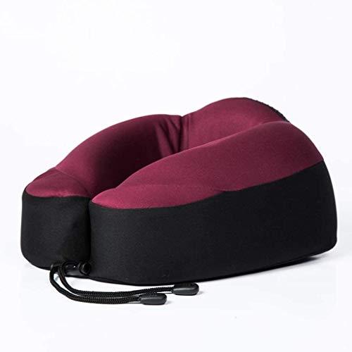 Almohada Avestruz En Forma de U de Memoria Almohada de algodón 3D Tridimensional Almohada for Cuello Almohada Oficina de la Siesta (Color : D, Size : -)