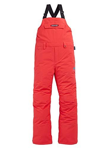 Burton Mädchen Skylar Bib Snowboardhose, Hibiscus Pink, XL