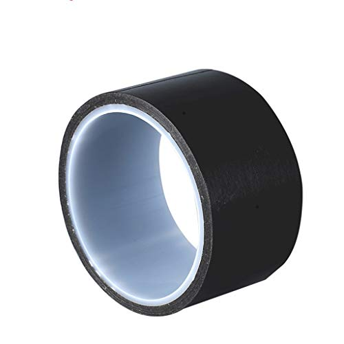 Teflonband Black High Temp Bandsiegelmaschine Hitzebeständige Hochtemperaturband Teflon Feuer Isolierung Elektrische Hochtemperatur Antiverbrühschutz Band