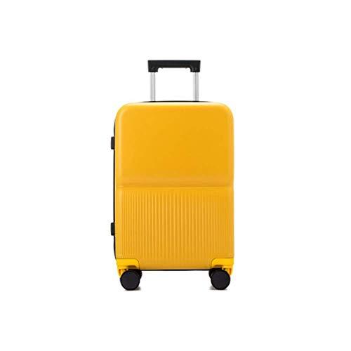 Dames en heren 50,8 cm (20 inch) board kruiwagen voor bagage (kleur: geel)
