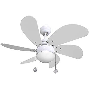 Ventilador de techo modelo Delfin: Amazon.es: Hogar