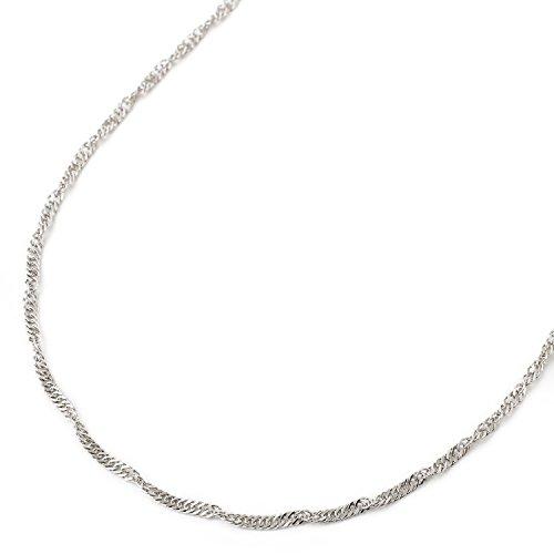 純プラチナ ネックレス スクリュー チェーン 60cm 3.9g 純Pt 刻印