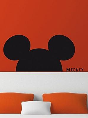 Pegatinas Extraíble pared Art Disney Mickey Mouse Pegatinas de pared La habitación de los niños multi-élèments Para una decoración rápida Este producto no es un juguete
