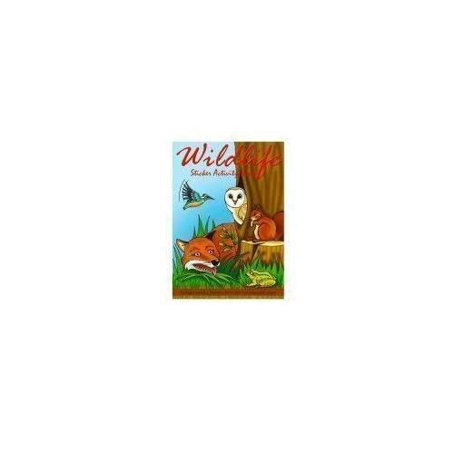 Woodland Wildlife Sticker Activity Books - Pack of 12