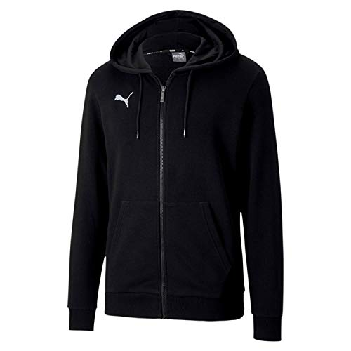 PUMA Herren teamGOAL 23 Casuals Hooded Jac Pullover, Black, L