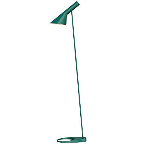 AJ Floor Lamp, Louis Poulsen, Lampada da Pavimento Progettata da Arne Jacobsen (Verde Scuro)