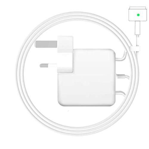 Rababa Compatible with MacBook Pro Charger, 60W Magsafe 2 T-Tip Power Adapter Charger for UK replacement MacBook Pro 13-inch Late 2012 And MacBook Air Charger 11-inch & 13-inch LATE 2012