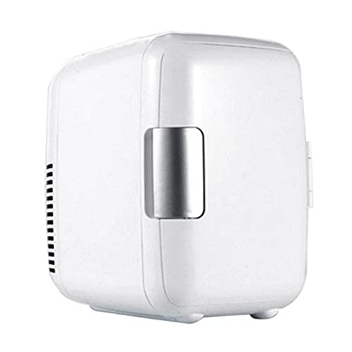 HKLY Minifrigorífico 12V 4L Mini Coche portátil/Congelador para el hogar Refrigerador Refrigerador Refrigerador Refrigerador Calentador General Auto Partes (Color Name : White)