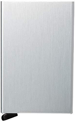 Secrid Cardprotector Kreditkartenetui mit RFID Schutz 6 cm Brushed Silver