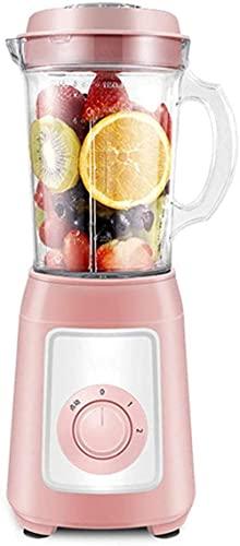 Blender Premium Smoother Maker 300W, 22,000 Rev/Min, 1150ml Jug (Tritan), Función de la trituradora de hielo, Tazón de mezcla adicional, Lavavajillas, Azul, C, Rosa, A ZJ666