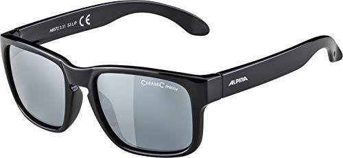 ALPINA Unisex - Kinder, MITZO Sonnenbrille, black, One size