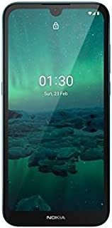 "NOKIA 1.3 Android Smartphone, 1GB RAM, 16 GB Memory, 5.71"" HD+, AI Imaging, 3000 mAh battery - Cyan"
