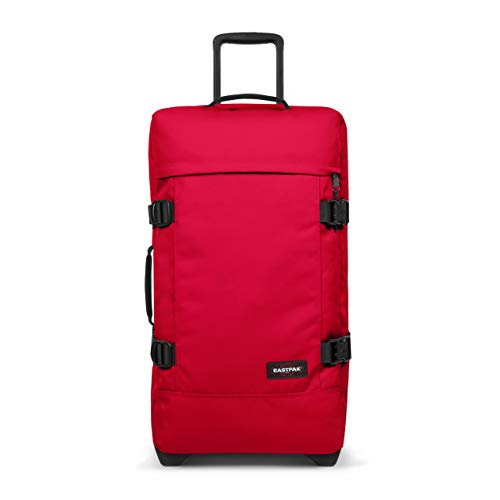 Eastpak Tranverz M Valigia, 67 cm, 78 L, Rosso (Sailor Red)