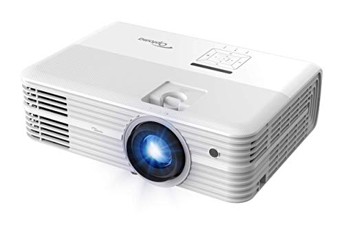 Optoma UHD52ALV True 4K UHD Smart Projector | Super Bright 3500 Lumens | HDR10 + HLG Support | Works with Alexa and Google Assistant | Voice Command | Support IFTTT