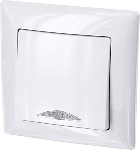 Serie G1/Color Blanco Up enchufe con protecci/ón infantil/ Protectora /All-in-One/ rasante de uso /Marco