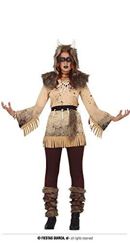 FIESTAS GUIRCA Chaman Disfraz de Halloween Mujer Talla L