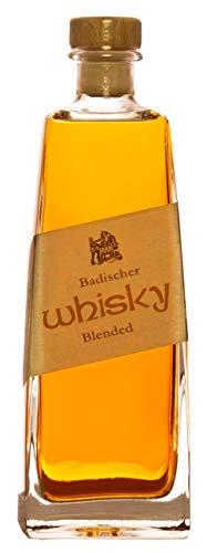 Badischer Whisky (1 x 0.5 l) Blended 42% Vol. deutscher Whisky aus dem Schwarzwald