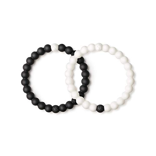 Lokai Black & White Bracelet Set, 7