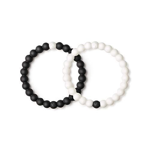 Lokai Black & White Bracelet Set, 7.5