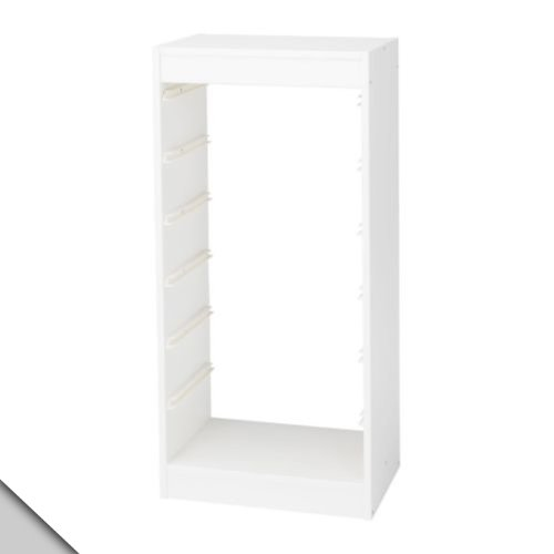 IKEA - TROFAST Children Storage Frame (B), white